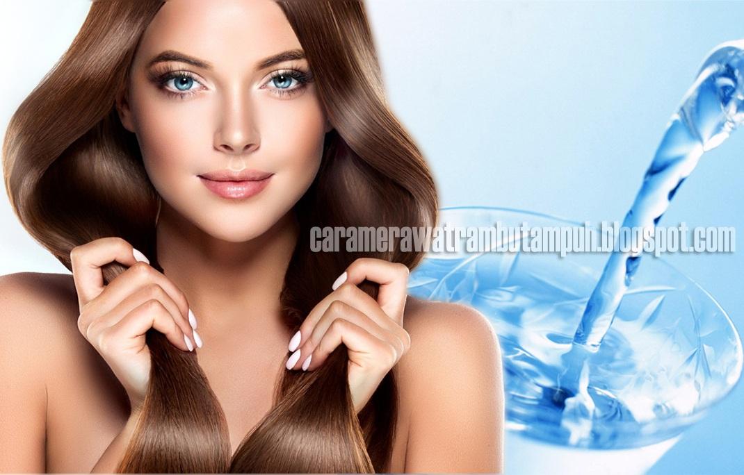 Manfaat Air untuk Memanjangkan Rambut