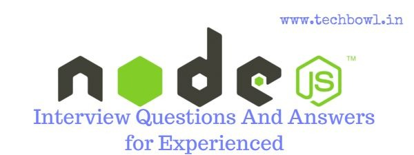 Advance Node.JS Interview Questions And Answers