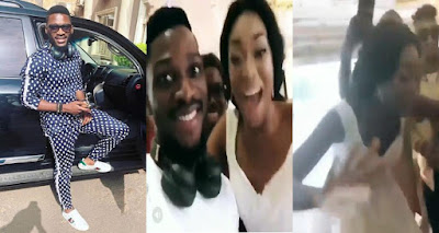 Tobi Crashes Party As Bride Leaves Groom With Excitement To Meet Him(watch Video)