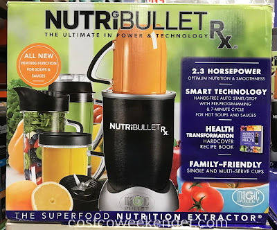 Costco 3900096 - Prepare sauces, purees, salsas, and soups with the NutriBullet Rx
