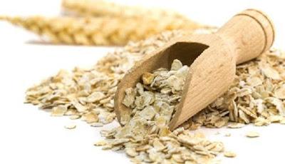 Serat alami dari gandum.