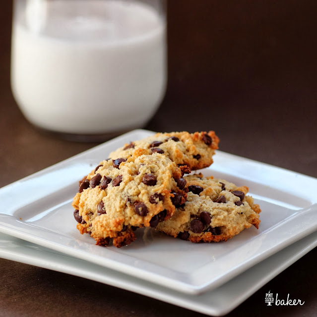 Paleo Chocolate Chip Cookies - So good, you won't miss your sugar filled cookies.