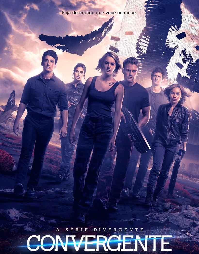 A Série Divergente: Convergente Torrent – BluRay 720p e 1080p Dublado (2016)