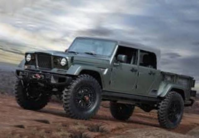 2018 Jeep Wrangler Pickup