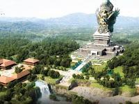 Patung Garuda Wisnu Kencana Yang Kian Menjulang