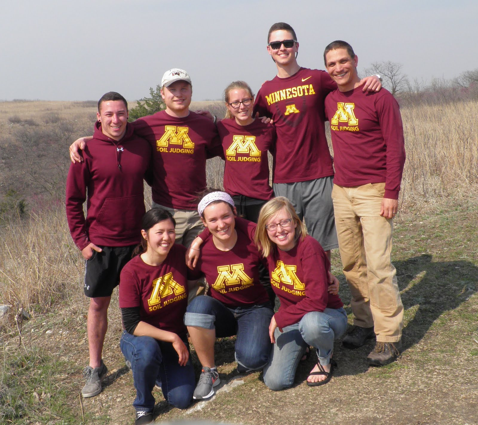 2017 University of Minnesota NACTA Soil Judging Team
