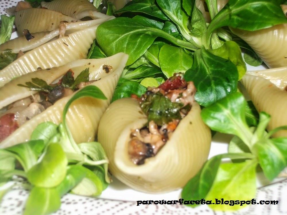 przepis na obiad z parowaru makaron