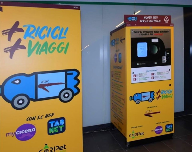 Máquina no metro