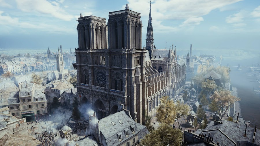 notre dame de paris assassins creed unity free pc uplay