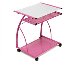 Pink Computer Desk