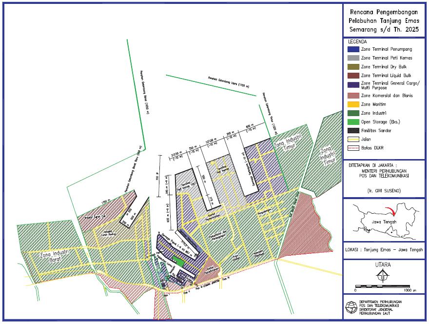 Mega Proyek Modernisasi Pelabuhan Tanjung Emas Semarang