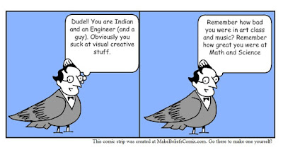 Indian, Engineer, Guy - Creative, Visual - Really??