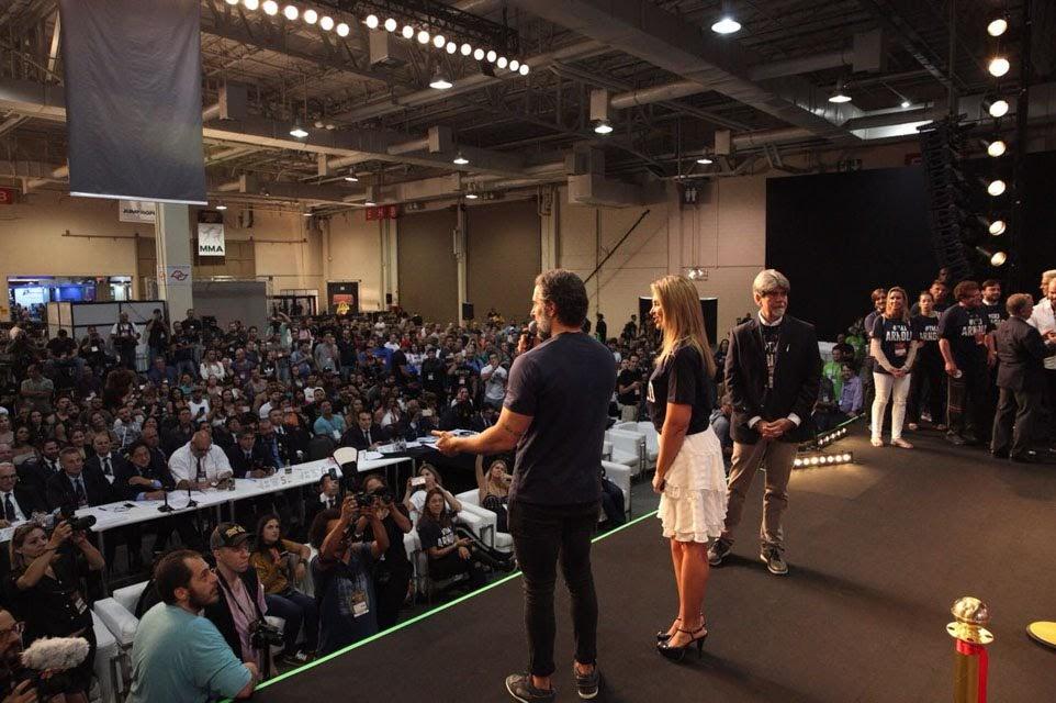Cerimônia de abertura Arnold Sports Festival South America 2018. Foto: Rodrigo Dod/ Savaget