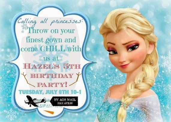 Kosker S Idlewild A Wonderfully Frozen 5th Birthday