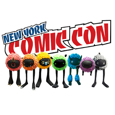 New York Comic Con 2016 Exclusive Cavus Bloom Glow in the Dark Resin Figures by Kyle Kirwan