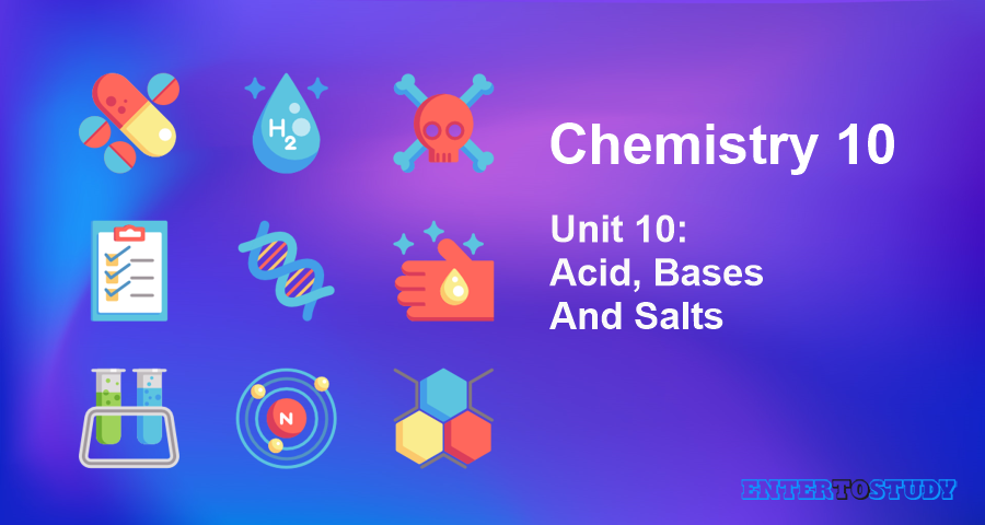 KIPS 10th Class Chemistry Notes Unit 10: Acid, Bases And Salts