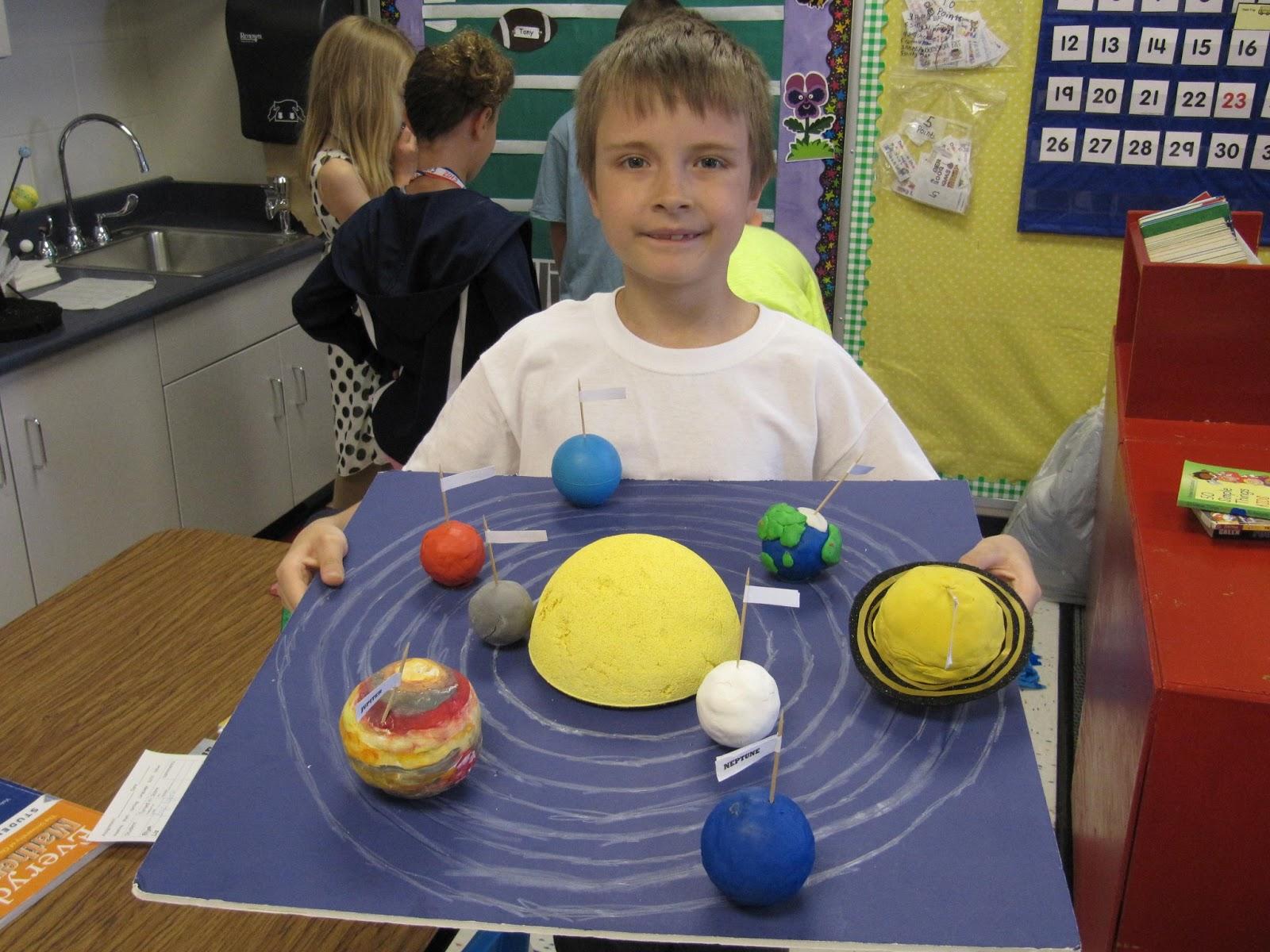 third grade solar system project - photo #36