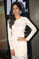 Chandini Chowdary in white Tight dress at Shamanthakamani pre release function ~  Exclusive 048.JPG
