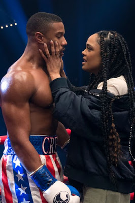 Creed II - Michael B. Jordan and Tessa Thompson