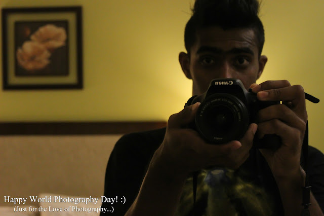 Cover Photo: Happy World Photography Day!   (Just for the love of photography) - Ronak Sawant