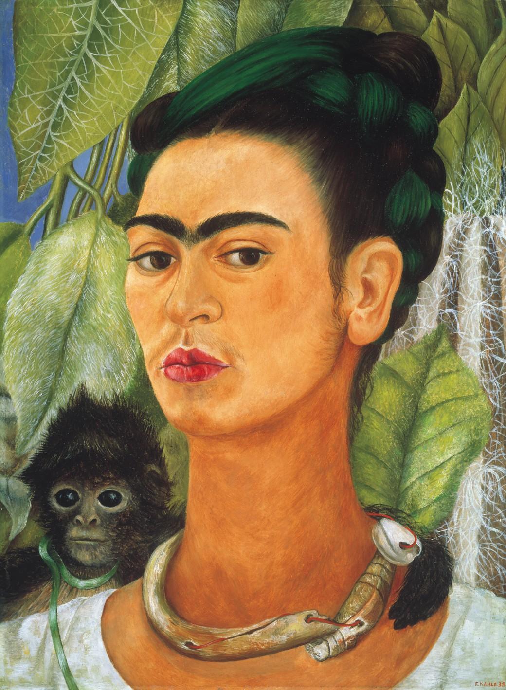 Finestre su Arte, Cinema e Musica: Animali nell'arte - Frida Kahlo