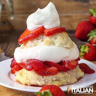 Southern Style Strawberry Shortcake