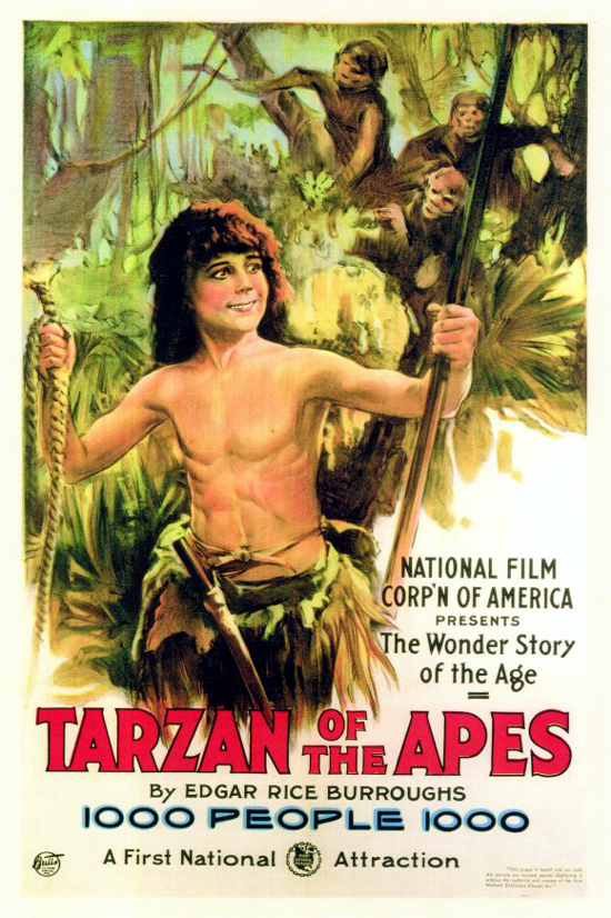 Tarzan of the Apes poster 1918 - 1