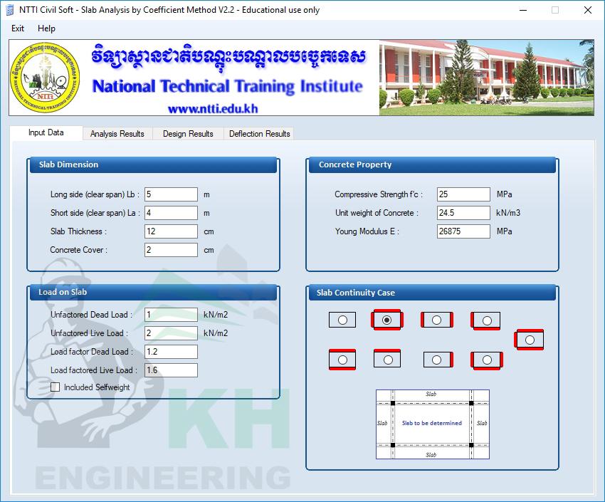 Slab Analysis by Coefficient Method v2 2 (NTTi) - KH Engineering