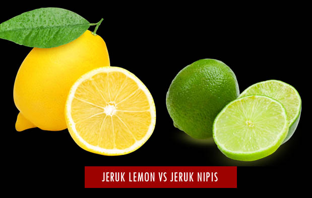 Perbedaan Jeruk Nipis Dan Jeruk Lemon
