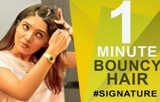 How to get Bouncy Hair | Vani Bhojan's Hair Secret