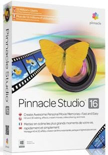 Pinnacle Studio 16 Video Editing Program