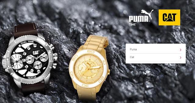 relojes baratos Puma y CAT