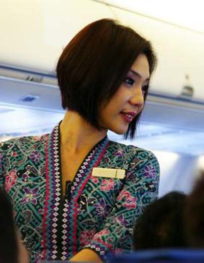 Airline companies are free to pick the attire of their crew, as long as it fulfills the set criteria, said Mr Loke.