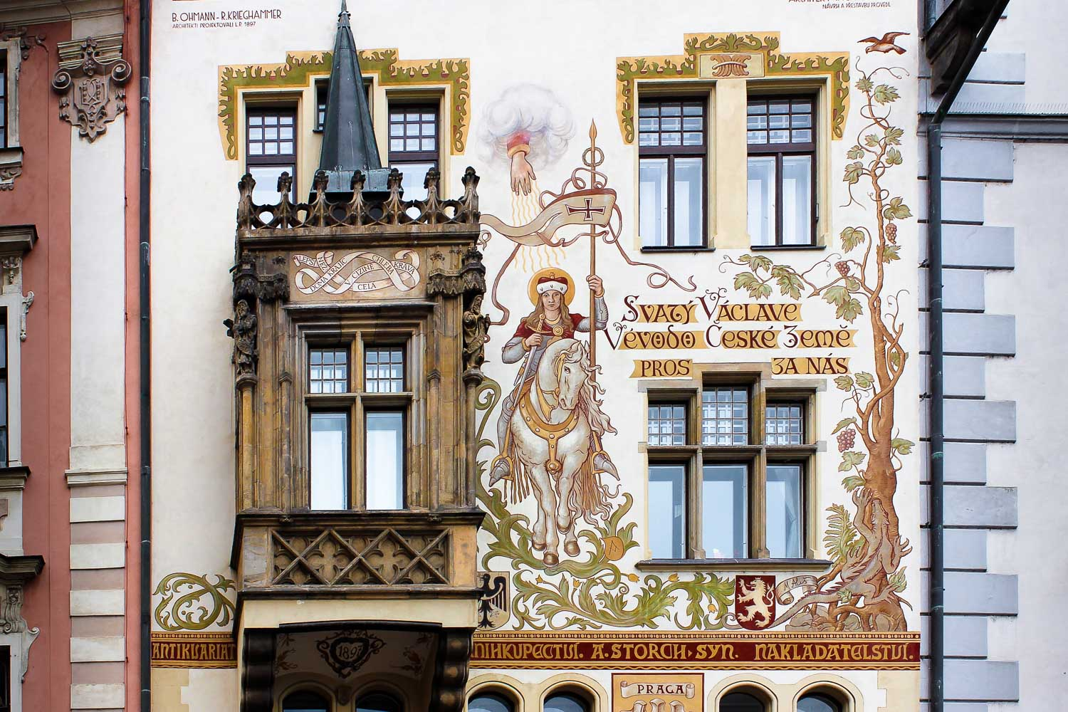 prague old town facade