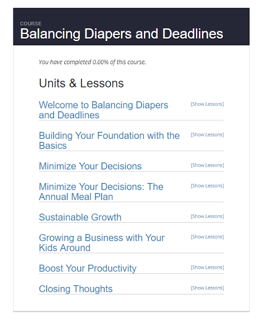Balancing Diapers and Deadlines {REVIEW}