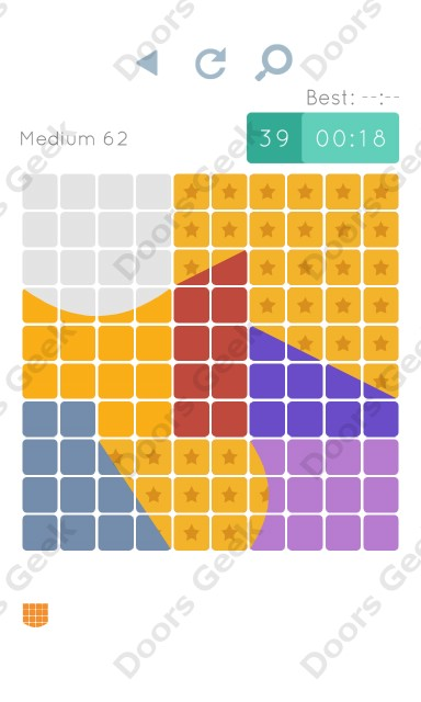 Cheats, Walkthrough for Blocks and Shapes Medium Level 62