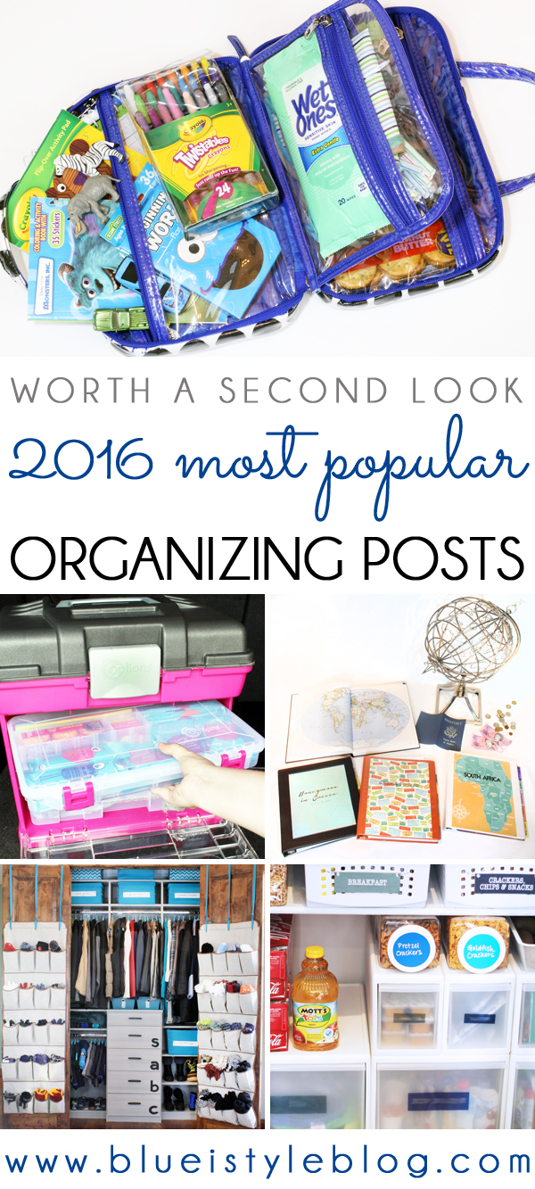 Five Popular Organizing Ideas