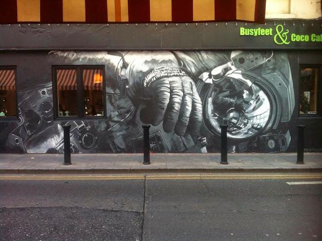 Dublin Street-art by artist Shane Sutton