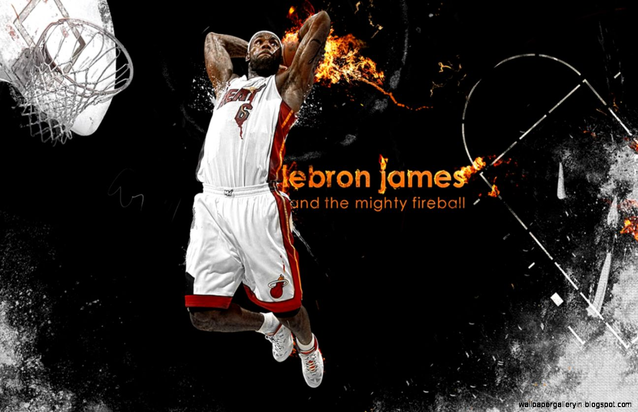 Hi84 Lebron James Nba Basketball Dunk Wallpaper: Basketball Wallpaper Lebron James Slam Dunk