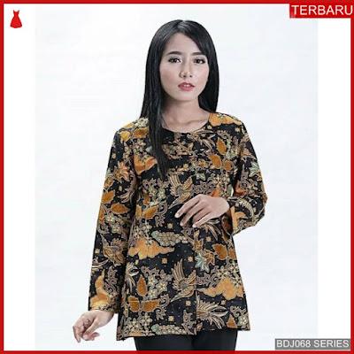 BDJ68B51 Blouse Batik 0057 Terbaru BMGShop