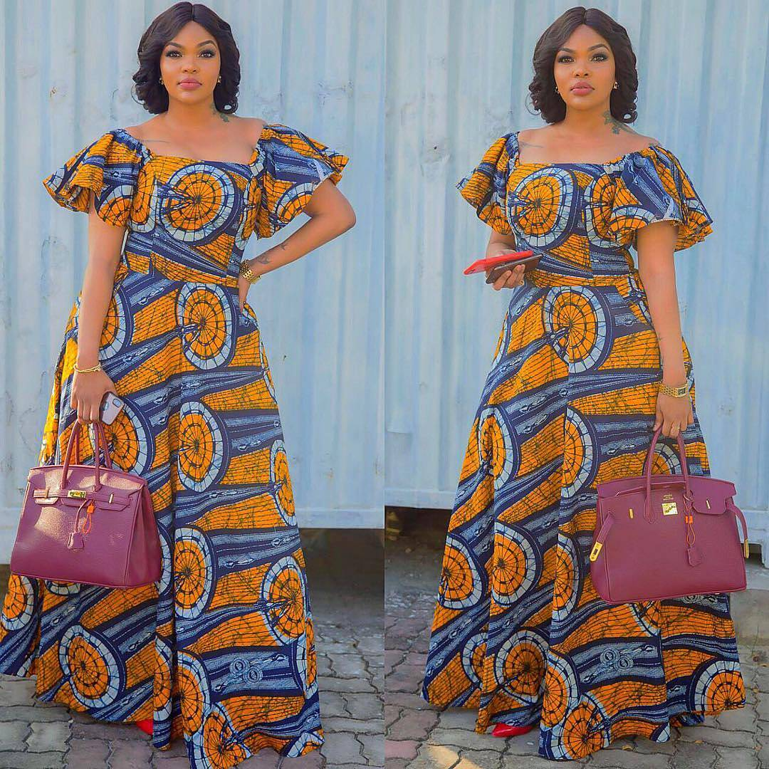 The Most Stylish And Trending Ankara Maxi Dresses Ever Created 70eae7b42