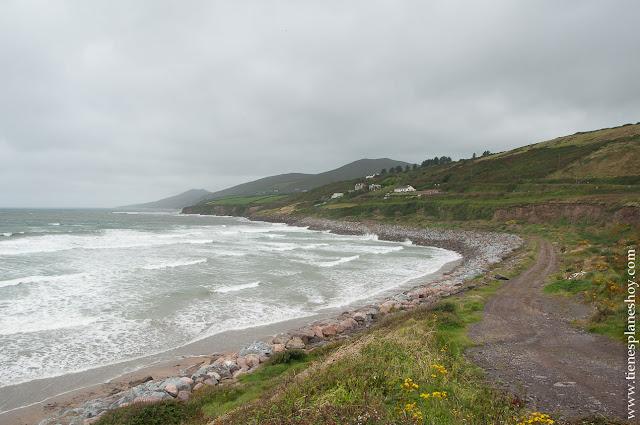 Inch Beach Irlanda Peninsula de DIngle playa