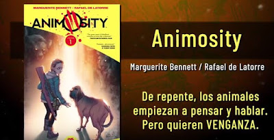 Animosity de Marguerite Bennet y Rafael de Latorre