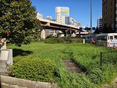 Iwamotocho Horse-Watering Plaza, near Akihabara, Tokyo.