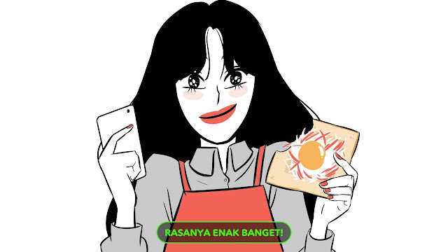 maniak-makan-lazy-cooking-line-webtoon