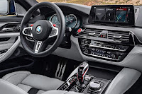 BMW M5 Saloon (2018) Dashboard