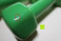 Lock in Ummantelung: Vinyl-Hanteln »Hexagon« Kurzhanteln in verschiedenen Gewichts- und Farbvarianten ( 0,5kg, 0,75kg, 1kg, 1,5kg, 2kg, 3kg & 4kg )