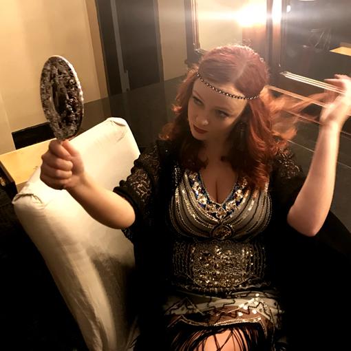 "Fox Theatre Ghost Tour 2018 | ""Anna Ragan"" | Photo: Travis Swann Taylor"