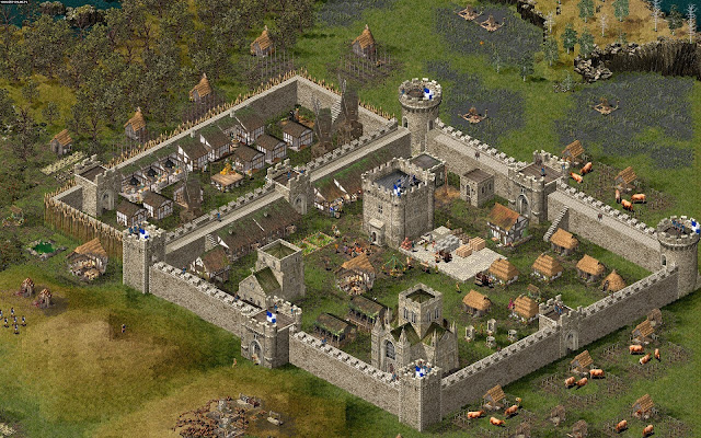 Stronghold HD Full Version Download Free Gameplay 1