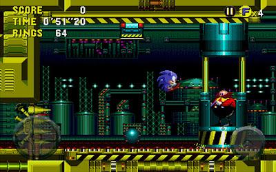 Clássico jogo Sonic CD do Sega CD chega diretamente para o sistema Android 1
